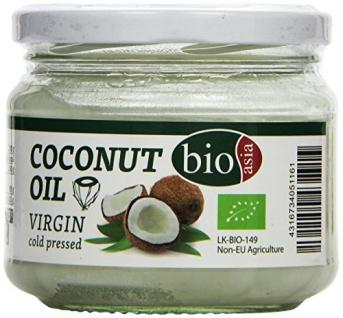 Bioasia Bio Kokosnussöl, virgin, 2er Pack (2 x 250 ml)