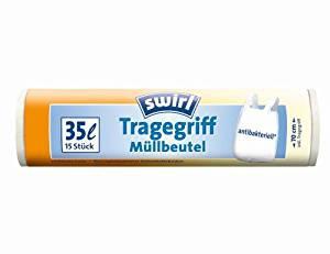 Swirl 35l Tragegriff-Muellbeutel