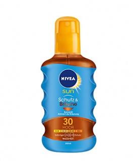 Nivea Sun Protect & Bronze Öl Spray schöne Bräune LSF 30 200ml