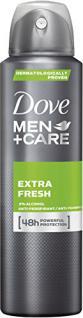 Dove Men+Care Deospray Extra Fresh Anti-Transpirant, 6er Pack (6 x 150 ml) - Vorschau