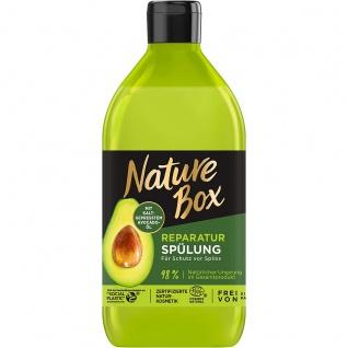 Nature Box Reparatur Spülung mit Avocado Schutz vor Spliss 385 ml