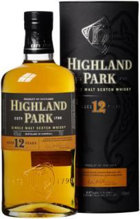 Highland Park 12 Jahre Single Malt Scotch Whisky (1 x 0.7 l)