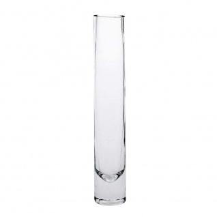 Sandra Rich 360042 Vase, Glas, transparent, 20 x 10 x 10 cm