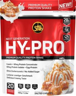 AllStars Hy Pro Salted Caramel Nahrungsergänzungsmittel 500g 3er Pack