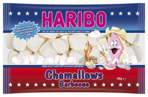 Haribo Chamallows Barbecue 4er Pack (4 x 300 g)