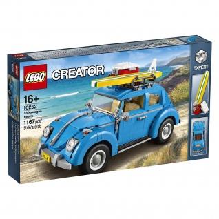 Lego Creator 10252 VW Käfer Fahr mit dem VW Käfer an den Strand