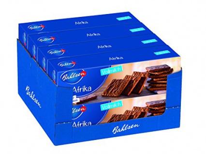 Bahlsen Afrika Vollmilch 8er Pack (8 x 130 g Packung)