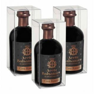 Casa Rinaldi Aceto Balsamico di Modena IGP Essig 250 ml 3er Pack