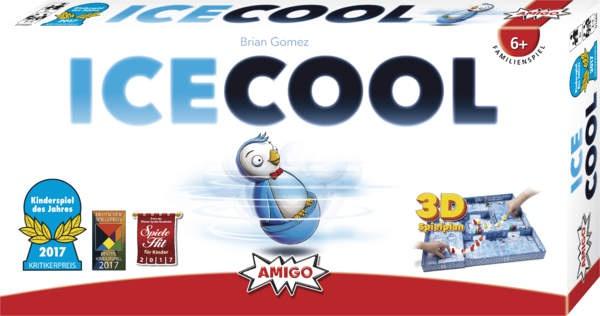 Amigo ICECOOL Kinderspiel des Jahres 2017 Ein Spiel für die Familie