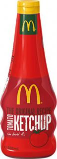 Develey Mc Donald's Tomato- Ketchup Squeeze, 12er Pack (12 x 500 ml Flasche)