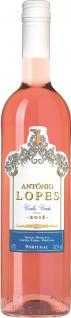 Antonio Lopes Rose Vinho Verde fruchtig-aromatisches Bukett 750ml 3er Pack