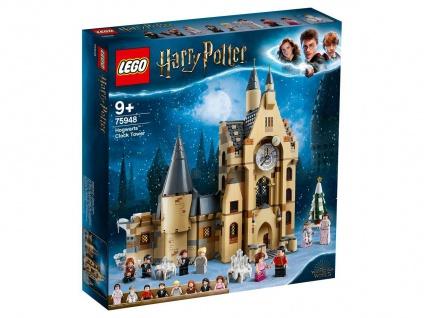 Lego Harry Potter 75948 Hogwarts Uhrenturm für Kinder ab 9 Jahren
