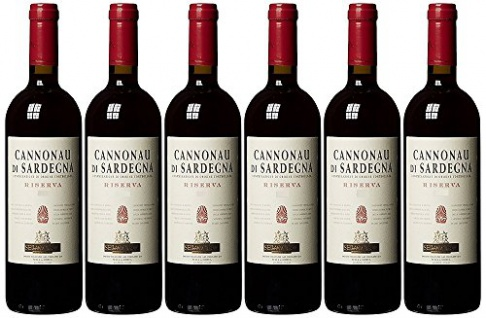 Mosca Cannonau di Sardegna DOC Riserva Rotwein 750ml 6er Pack