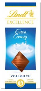 Lindt & Sprüngli Excellence Milch, 4er Pack (4 x 100 g)