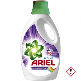 Ariel Flüssigwaschmittel Colour und Style 2600ml 3 x 40 Waschladungen