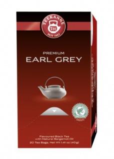 Teekanne Premium Earl Grey Schwarzer Tee mit Bergamotte 5er Pack