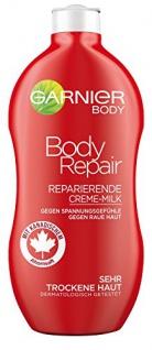 L'Oréal Garnier Body Repair - Reparierende Creme-Milk 400ml, 6er-Pack