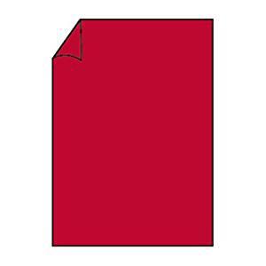 Briefpapier Paperado DIN A4 100g/m² Farbe Rot 10 Blatt Normalpapier