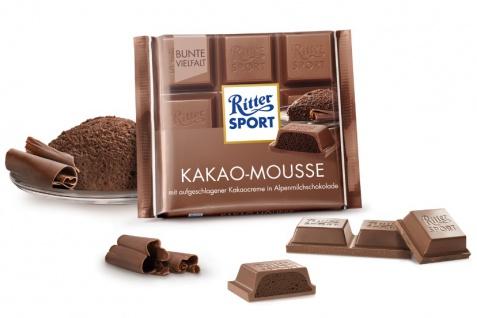 Ritter Sport Kakao Mousse mit Kakaocreme in Alpenmilchschokolade 100g