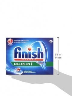Finish/Calgonit Alles in 1, Spülmaschinentabs, 26 Stück