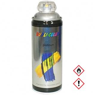 Dupli Color Platinum RAL 9007 graualuminium seidenmatt 400ml