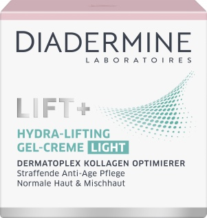 DIADERMINE LIFT+ Tagespflege Hydra-Lifting Gel-Creme Light Straffende Anti-Age Pflege 50ML