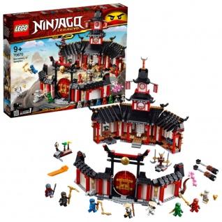 LEGO NINJAGO 70670 Kloster des Spinjitzu für Jungen und Mädchen