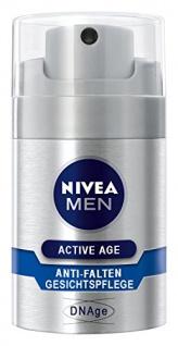 Nivea Men Active Age Anti-Falten Gesichtspflege, DNAge, 1er Pack (1 x 50 ml)