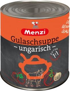 Menzi Gulaschsuppe ungarisch pikant Extra konzentriert 2500ml