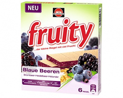 fruity Blaue Beeren, 145g