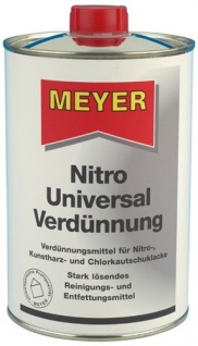 Nitro Uni Verdünnung für einen hervorragenden Glanz und Verlauf 1000ml