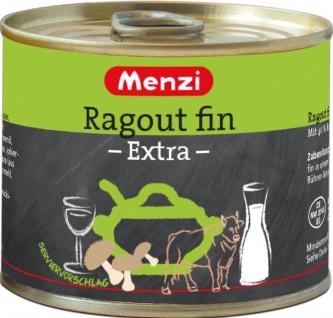 Menzi Ragout Fin Extra mit Weißwein und Sahne 200ml 5er Pack