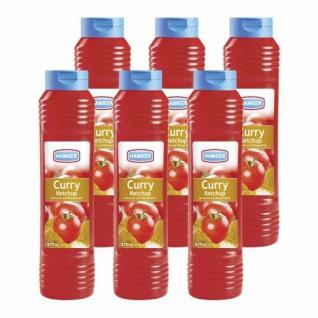 Hamker Gewürz Ketchup 875ml 6er Pack