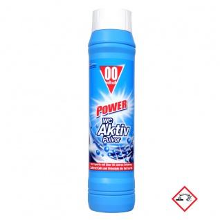 00 Kraftvoller WC-Reiniger in Pulverform Null Null Dosierflasche 1000g