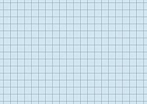 Karteikarten A7 blau kariert