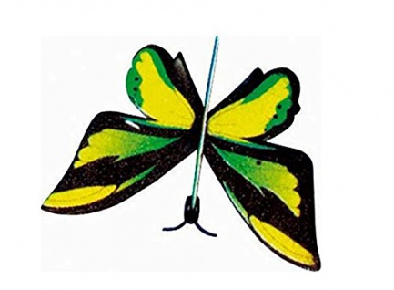 Wurfsegler in Tüte Schmetterling Liefermenge = 48