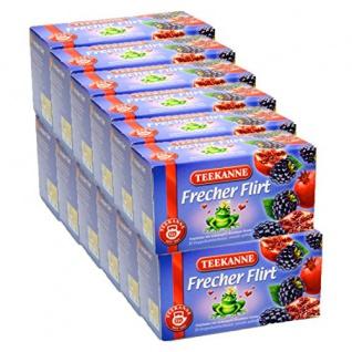 Teekanne Frecher Flirt Granatapfel mit Brombeeraroma 12er Pack