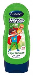 Bübchen Shampoo & Duschgel Superduscher, 4 x 230 ml