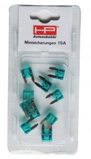 KFZ Mini-Stecksicherungen 10 Amp