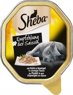 Sheba Schale Empfehlung der Saison mit Huhn und Spargel 85g 11er Pack