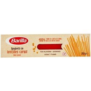Barilla Spaghetti de lentilles corail rote Linsen Glutenfrei 250g