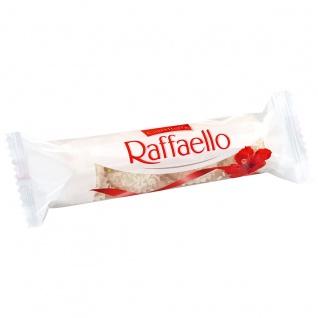 Raffaello 4 Pralinen aus Kokos und Milchreme und ganzer Mandel 40g