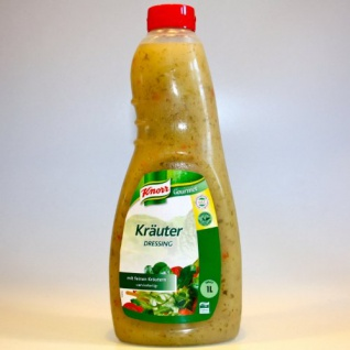 Knorr Kräuterdressing klares Salatdressing Dill und Petersilie 1000ml