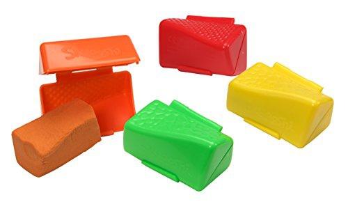 Skwooshi 45012 - Beluga Soft-Knete Rainbow Pack