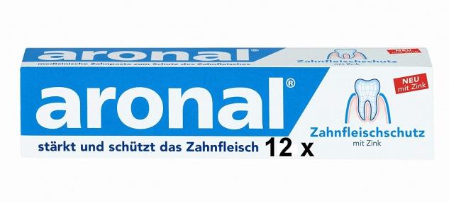 Aronal Zahnpasta 12er Pack 900ml