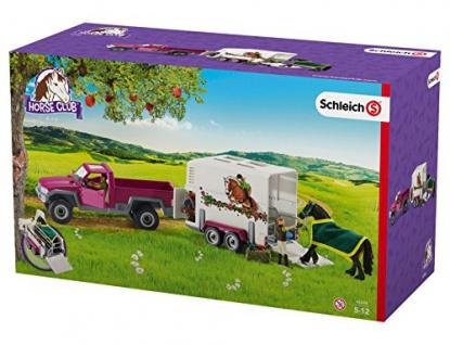 Schleich 42346 - Pick up mit Pferdeanhänger
