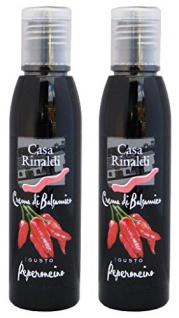 Casa Rinaldi Crema di Balsamico al Peperoncino Chili 150ml 2er Pack