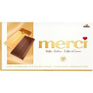 Storck merci - Kaffee-Sahne Tafelschokolade 100g