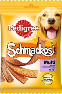 PEDIGREE Schmackos 4 Sorten 20 Stück