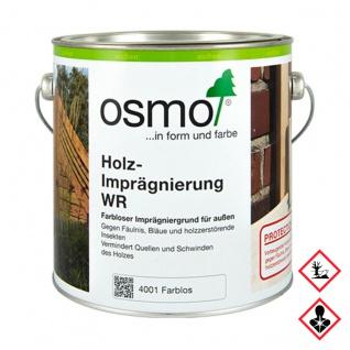 Osmo Holzimprägnierung WR farblos Holzschutz Grundierung 750ml